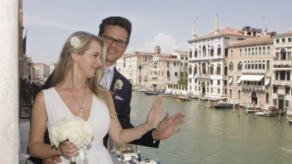 glücklich in Venedig