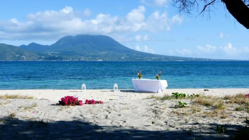 Strandhochzeit auf St. Kitts