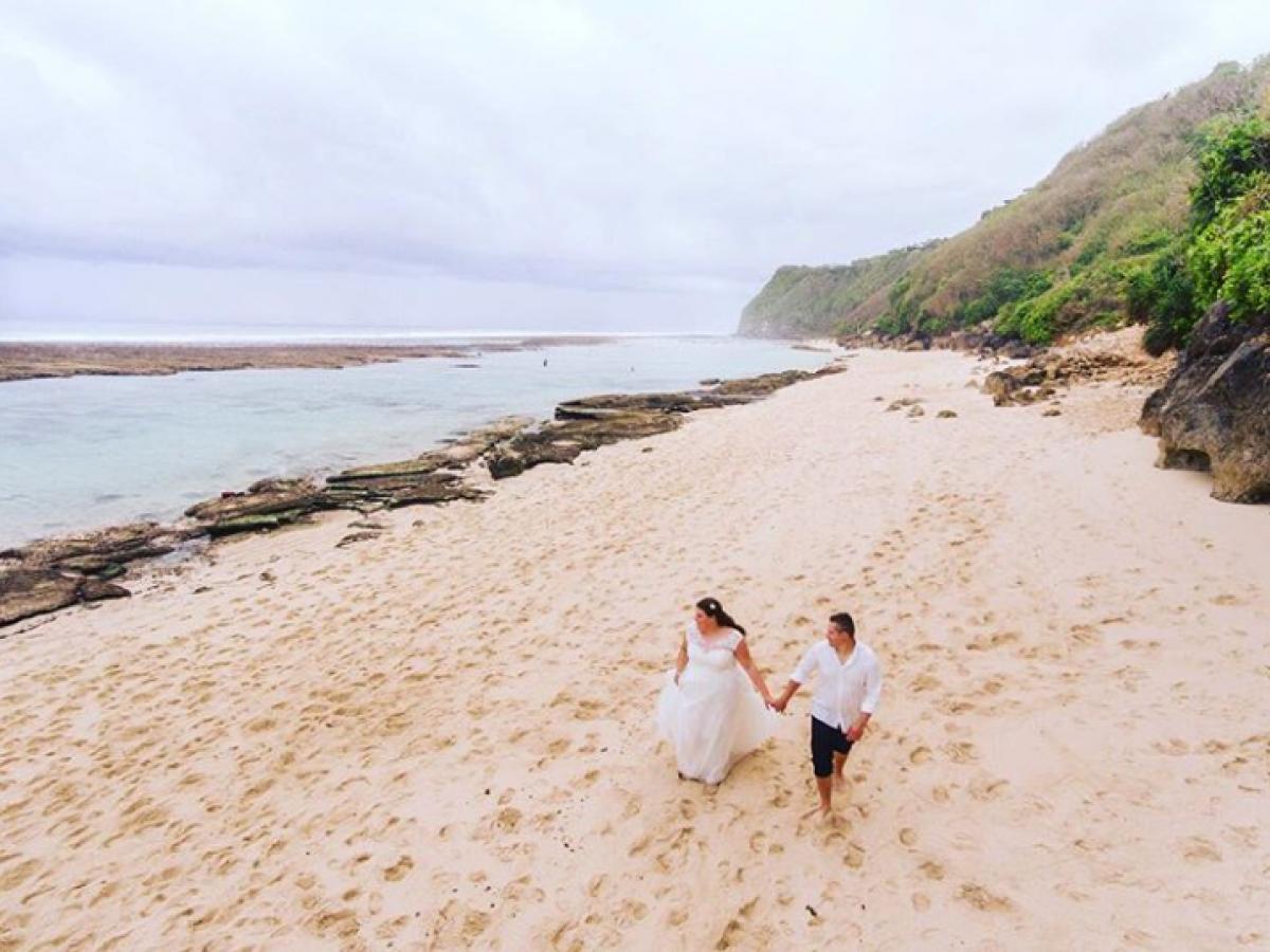 Strandhochzeit auf Bali