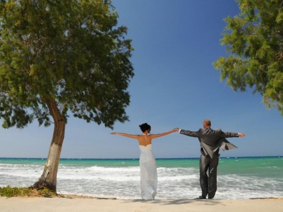 Strandhochzeit auf Kreta