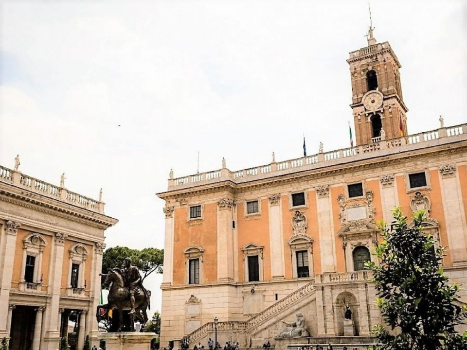Trauort Senatspalast, Rom