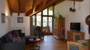großesWohnzimmer 20qm mit sichtbaren Dachstuhl