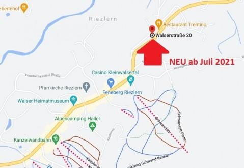 NEU ab Juli'21 - 2 FeWos in Riezlern