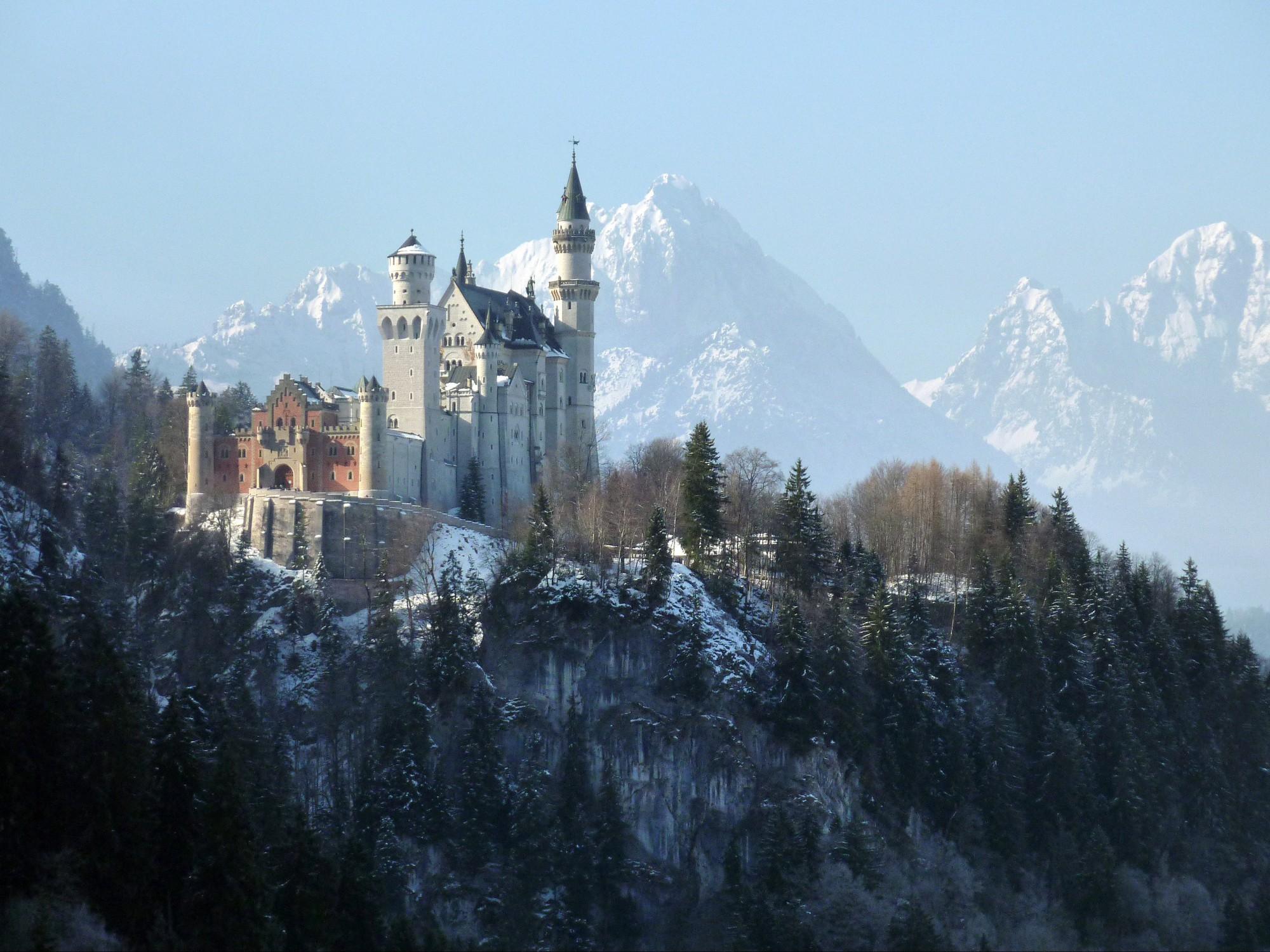 Beliebtes Ausflugsziel im Allgäu: Schloss Neuschwanstein