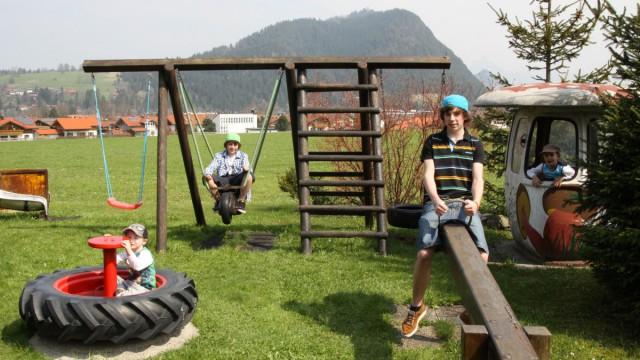 Unterkunft für familienfreundlichen Urlaub in Pfronten