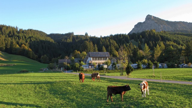 Camping im Tannheimer Tal