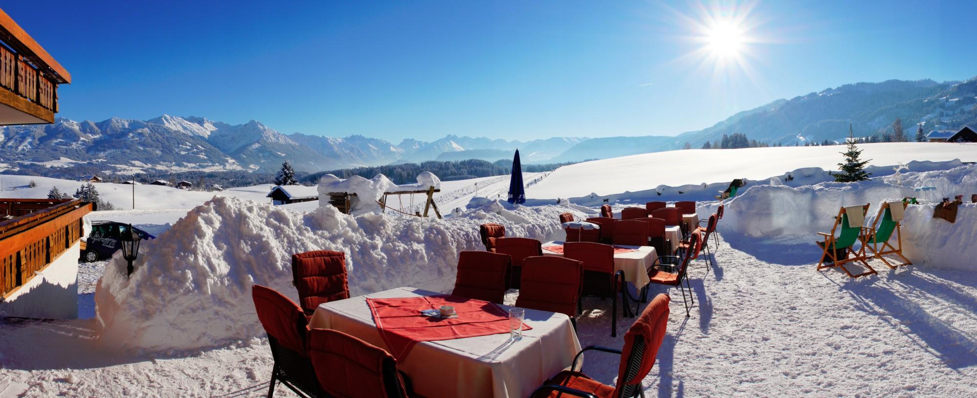 Der perfekte Winterurlaub im Allgäu in Ofterschwang - Jetzt genießen