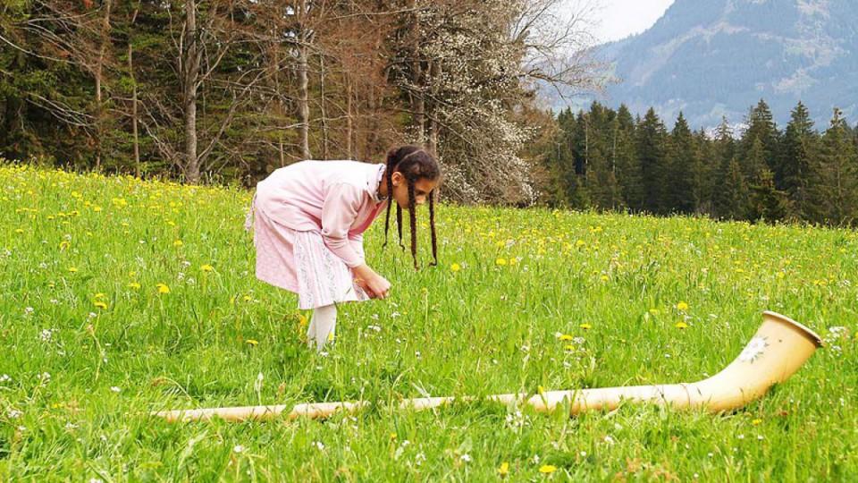 Alphorn Schnupperkurs im Allgäu