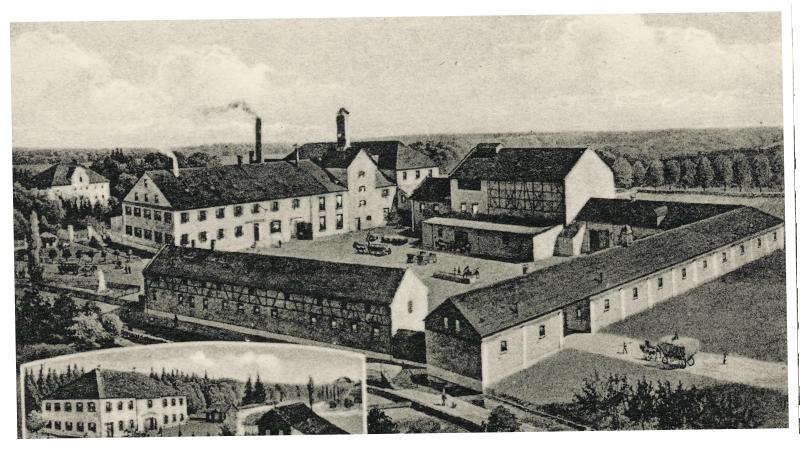 Schlossbrauerei Autenried - historisches Bild