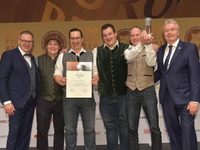 Urkundenübergabe Brau-Beviale Nürnberg -  European Beer Star 2019