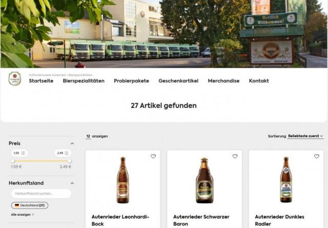 Autenrieder Online-Shop