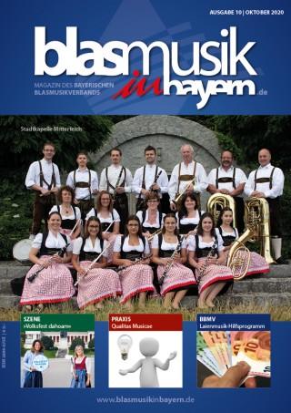 """Die Oktober-Ausgabe der """"Blasmusik in Bayern"""""""
