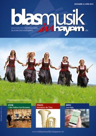 """""""Blasmusik in Bayern"""" Ausgabe 06/2021"""