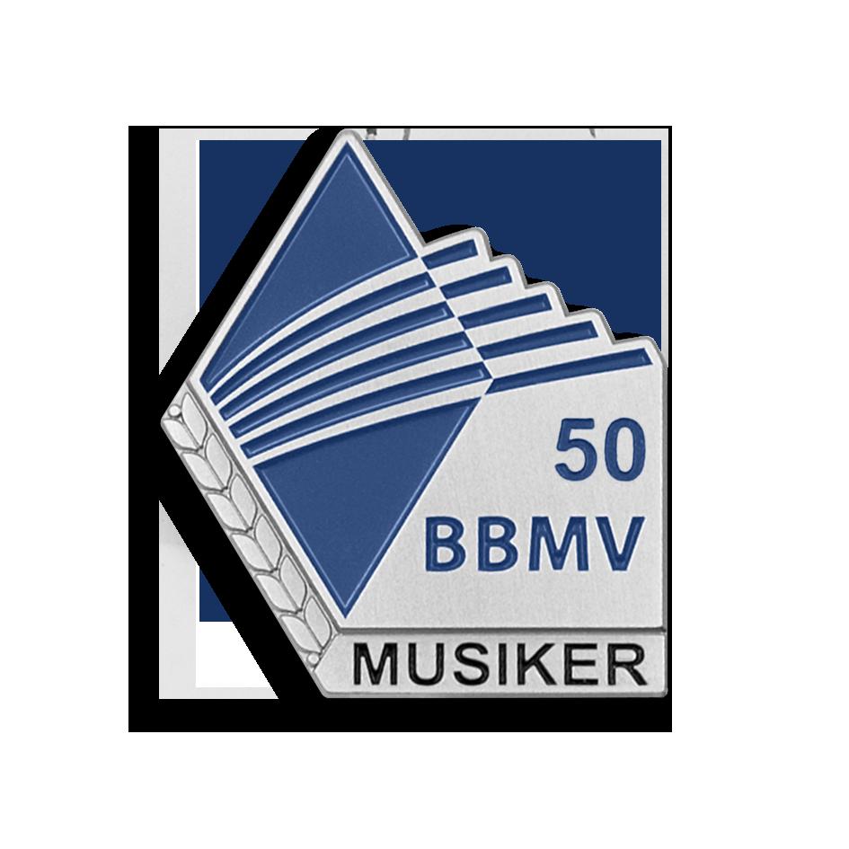 Musiker-Ehrung für 50, 55, 60, 65, 70 und 75 Jahre musikalische Tätigkeit