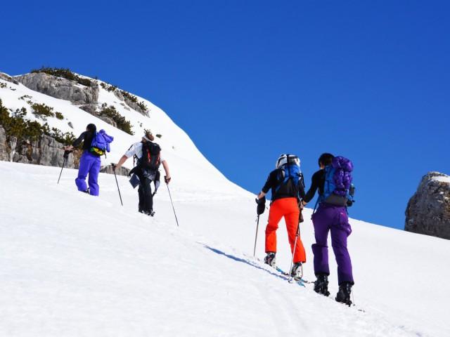 Winterwanderungen und Bergtouren