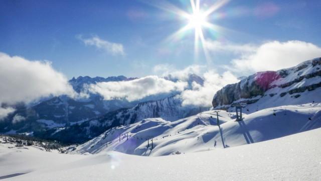 Kleinwalsertal im Winter
