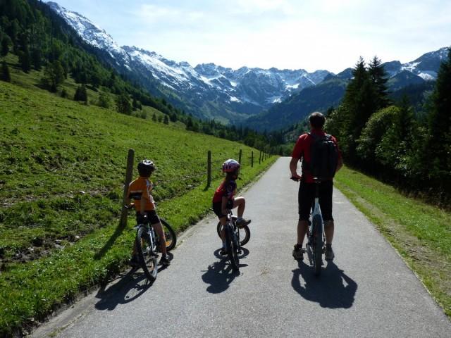 Sommeraktivitäten im Kleinwalsertal: Mountainbiken