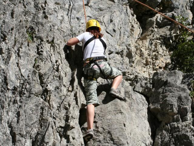 Klettern und Wandern