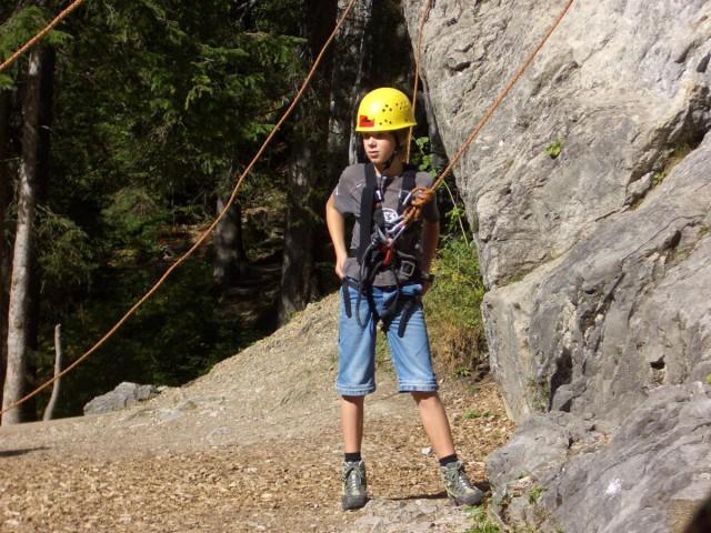 Klettern und Nervenkitzel
