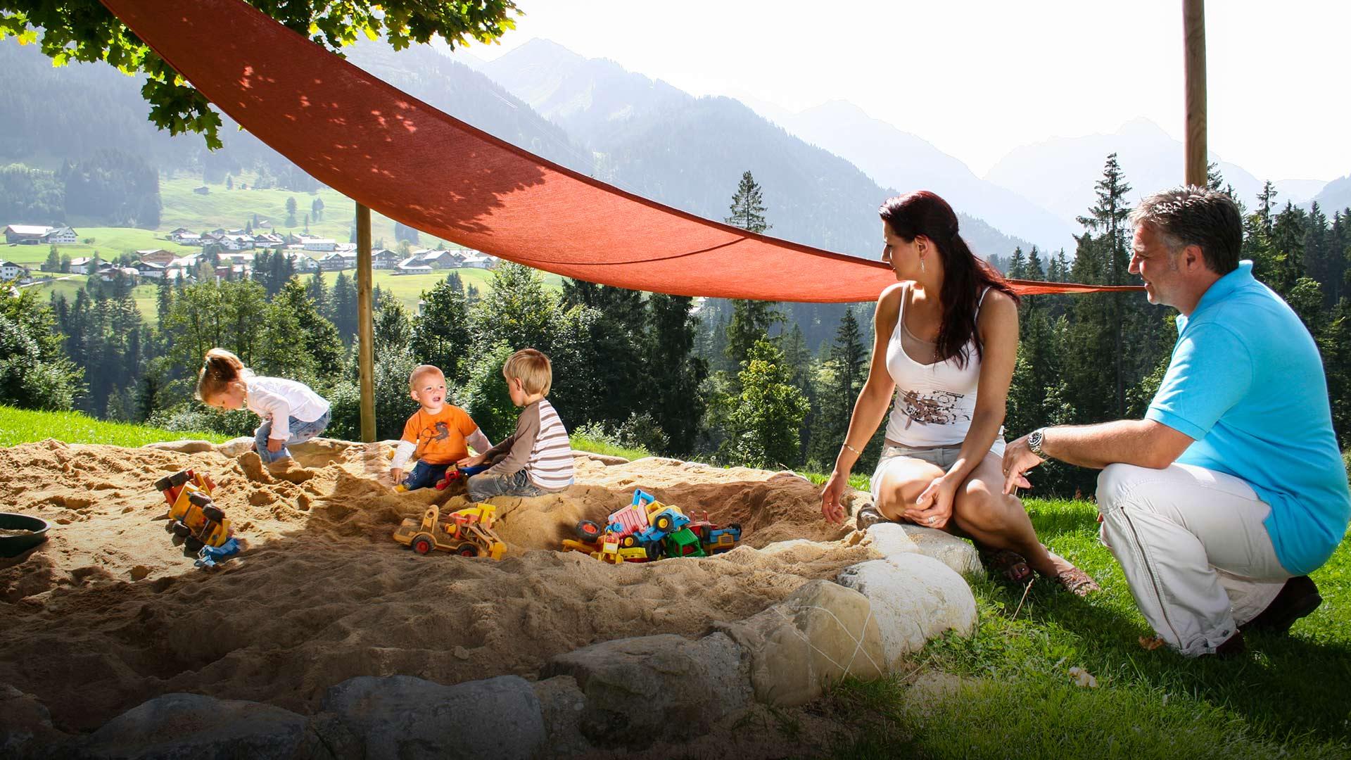 Familienurlaub im Kleinwalsertal