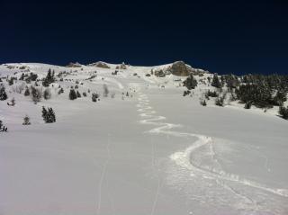 Ski-& Freeridetour am 18.01.13
