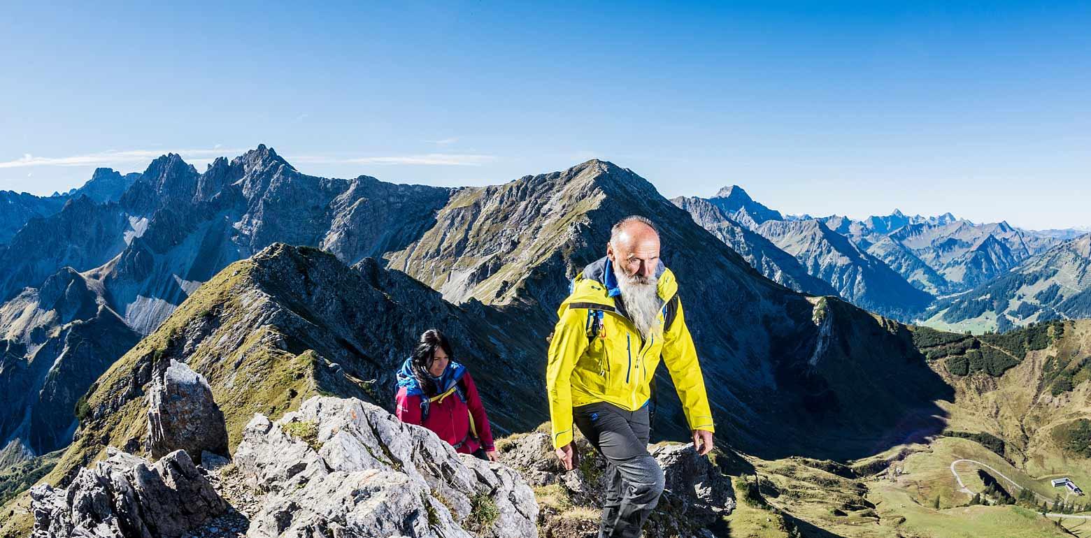 Alpenüberquerung - Wandern auf dem E5