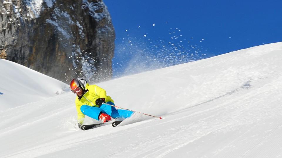 Wintersport: Skifahren