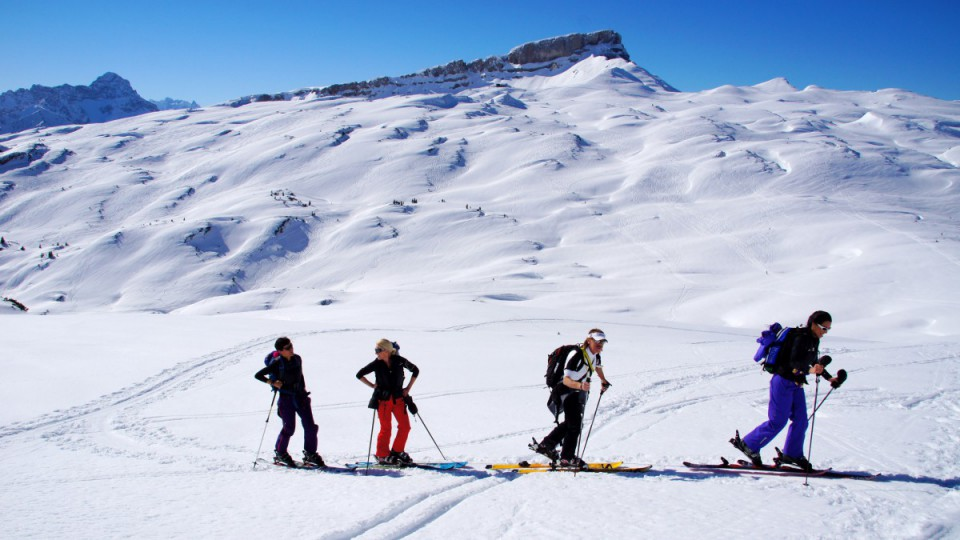 Winterurlaub in Oberstdorf im Allgäu - Langlauf-Ski