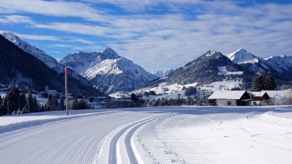Winter in Oberstdorf - perfekt für den Winterurlaub