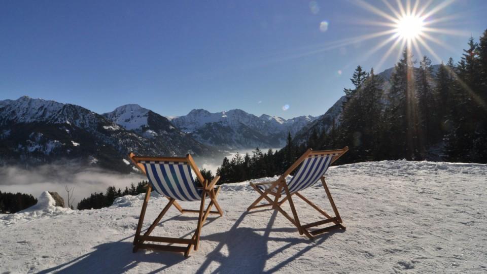 Traumhafter Winter im Allgäu