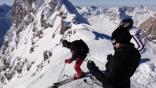 Freeride: Wintersportparadies Allgäu