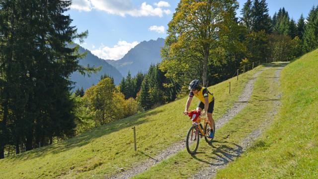 Urlaubsparadies Oberallgäu: Mountainbike, Wandern, Klettern und vieles mehr
