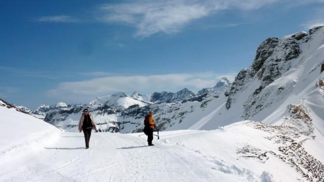Skifahren, Schneeschuhwandern und Langlauf