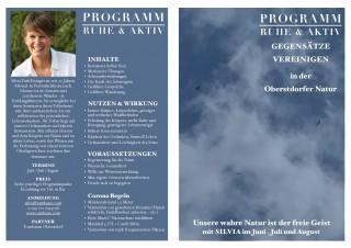 RUHE & AKTIV Programm ....