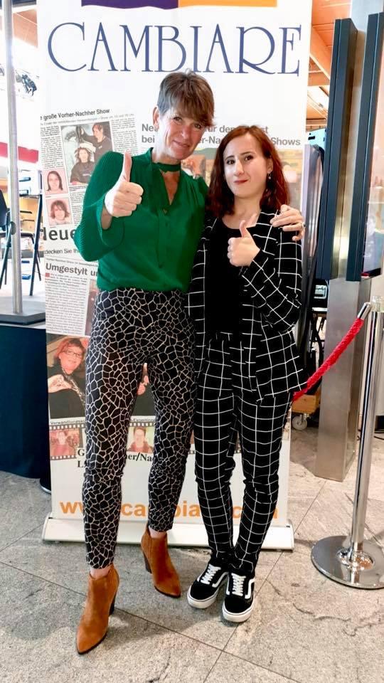 Voller Stolz ist unser Lehrling Marina mit Ihrer Chefin Silvia in Österreich auf Show unterwegs!