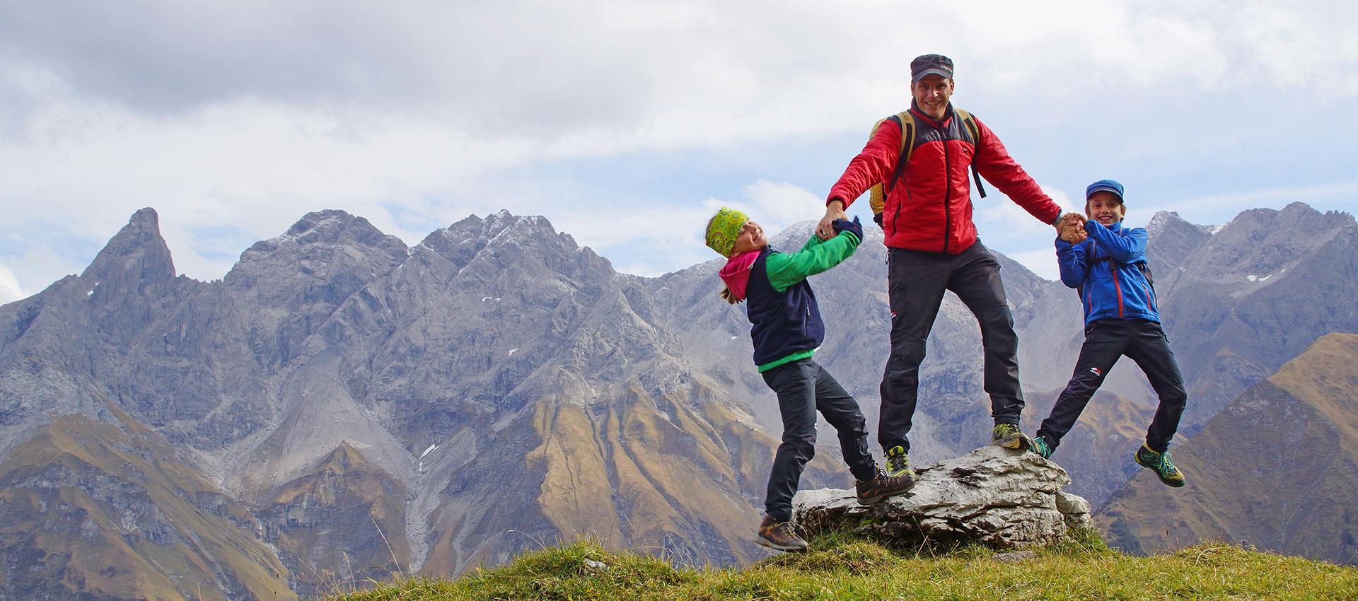 Freizeitparadies vor dem Alpenhauptkamm