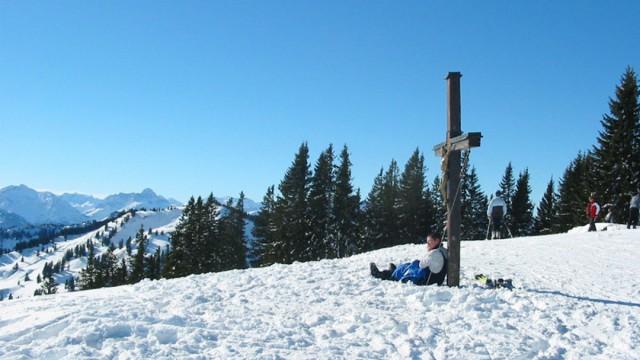 Winteraktivitäten in Bolsterlang im Allgäu