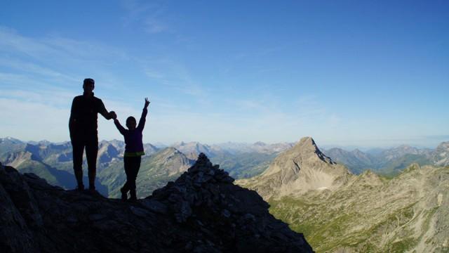 Wandern, Klettern und Bergtouren im Allgäu
