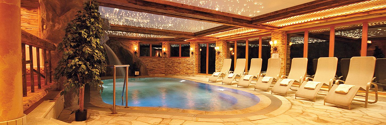 Hotel mit Sauna und Schwimmbad in Hirschegg im Kleinwalsertal