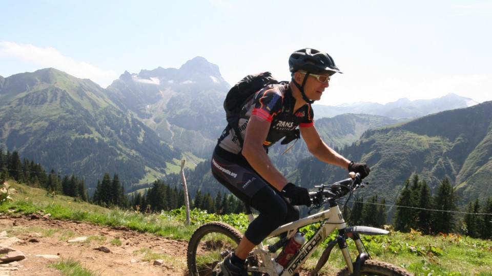 Mountainbiken in Hirschegg