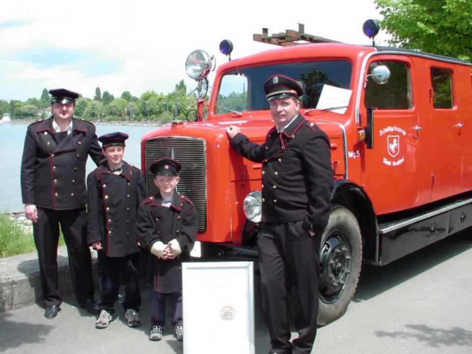 150 Jahre Feuerwehr Lindau <br> (2004)