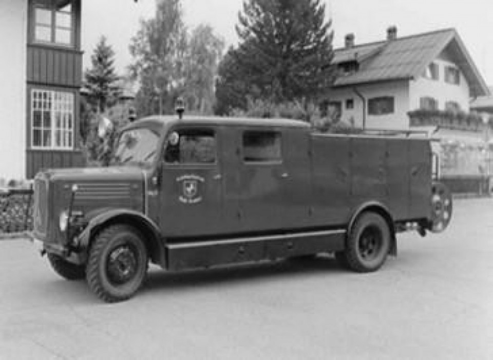 Magirus SLG <br> LF 15 Baujahr 1942