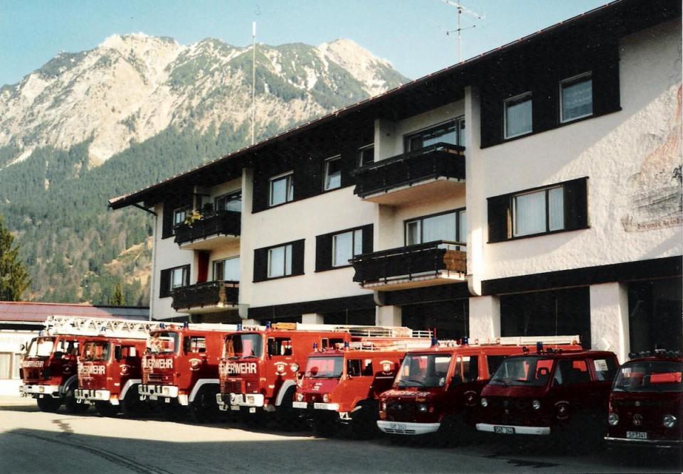 Fuhrpark 1990