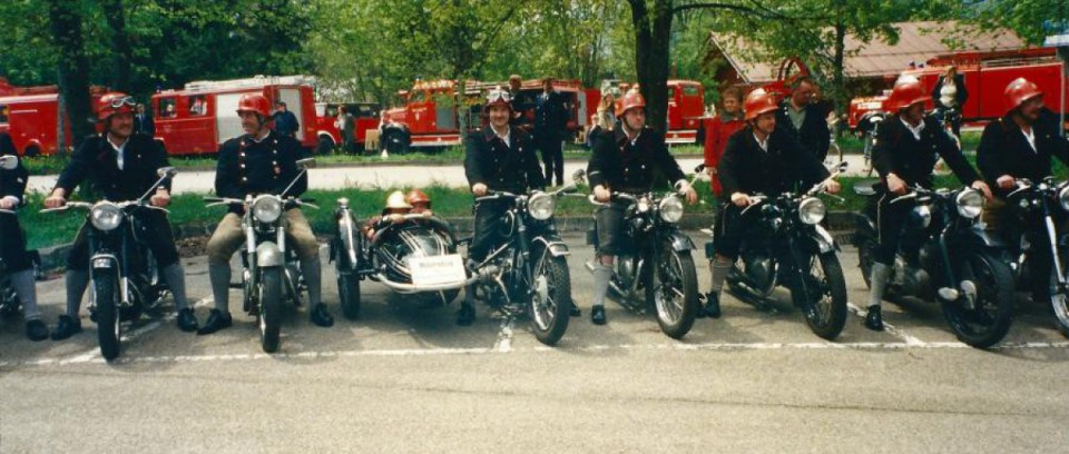 Motorradzug der FFO