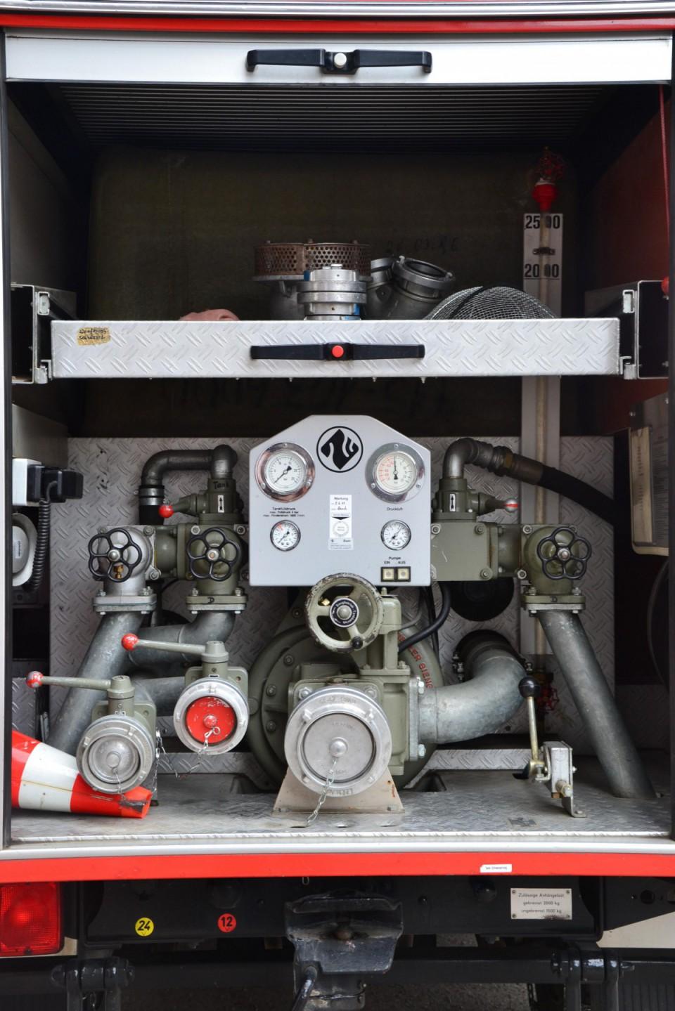 Pumpenbedienstand