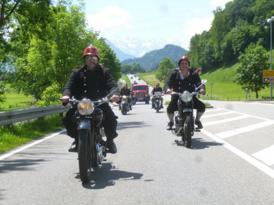 Motorradzug