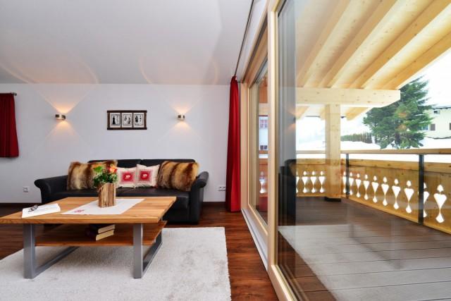 Sitzecke und Terrasse