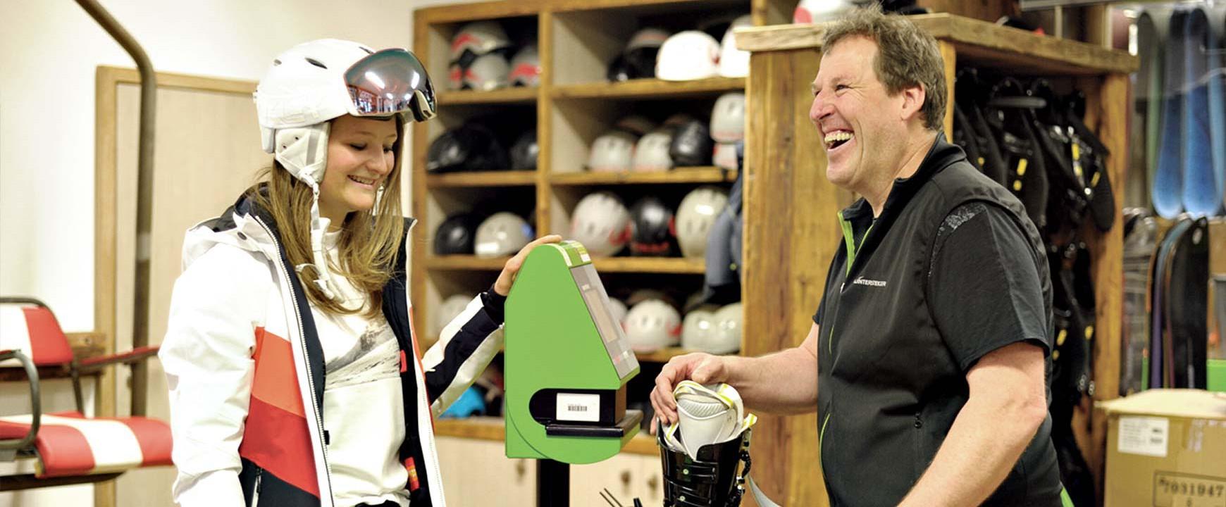 Ski-Service und mehr