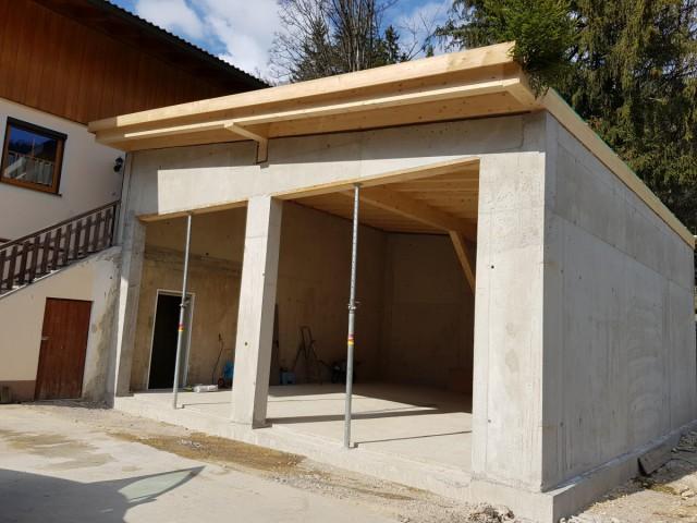 Baumeisterarbeiten, Schlaung und Betonarbeiten