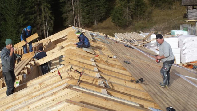Dachstühle aus Holz